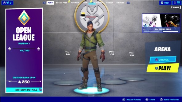 Fortnite Arena Duos Placement Points What Account Level To Play Arena Fortnite Daily Fortnite News